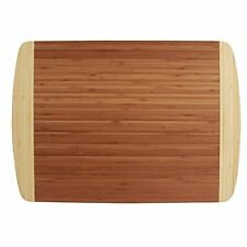 Totally Bamboo Kona Groove Thin Cutting Board -California Collection
