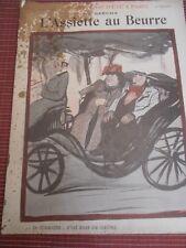"""L'ASSIETTE AU BEURRE """" DIMANCHE D'ETE A PARIS """"  SANCHA 1902 (ref 25)"""