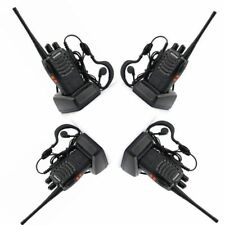 4x Baofeng BF-888S UHF Transceiver 5W CTCSS Two-way Ham Radio 16CH Walkie Talkie