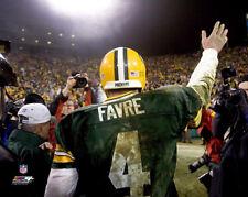 Brett Favre GREEN BAY PACKERS FAREWELL (2006) Premium NFL POSTER Print