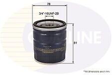 Genuine Comline Oil Filter EOF181 for Ford Jaguar Land Rover Mazda Saab Volvo