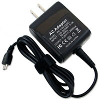 Micro USB AC Wall Power Charger Adapter for HP Chromebook 11-1101us F2J07AA#ABA