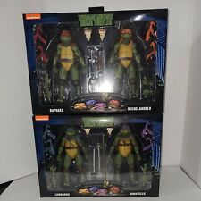 ?Teenage Mutant Ninja Turtles 1990 Movie 2-Packs ALL 4 TURTLES NECA Exclusive?