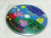 Peppa Pig - Muddy Puddles And Other Adventures Stories DVD R2 Cartoon DISC ONLY