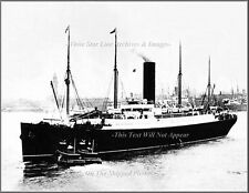 Photo: Cool View: RMS Carpathia Leaving NY After Titanic Rescue: April 19, 1912