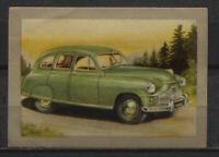 Standard Vanguard 1950 Vintage 1950s Dutch Trading Card No. 93