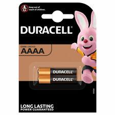 2 x Duracell AAAA batteries Alkaline 1.5V MX2500 E96 LR8D425 MN2500 Jabra