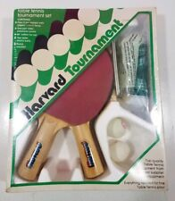 Vintage HARVARD Tournament #T702 Ping Pong Table Tennis Set NEW
