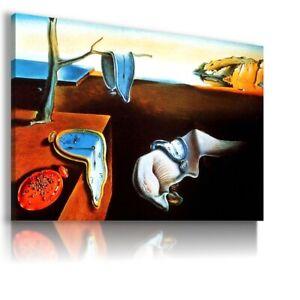 The Persistence of Memory DALI PRINT Canvas Wall Art F335 MATAGA UNFRAMED-ROLLED