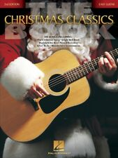 THE CHRISTMAS CLASSICS BOOK - EASY GUITAR 100+ SONGS SHEET MUSIC SONG BOOK