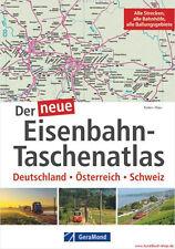 Fachbuch Der neue Eisenbahn-Taschenatlas, Deutschland – Österreich – Schweiz GUT