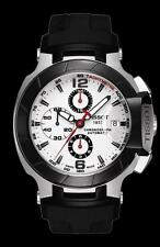 NEW MEN'S TISSOT T RACE AUTOMATIC CHRONOGRAPH SAPPHIRE WATCH T048.427.27.037.00