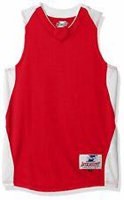 Intensity Youth Diamond Basketball Jersey, Scarlet/White, X-Large