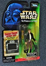 """STAR WARS POWER FORCE POTF 1997 KENNER 3 3/4"""" BESPIN HAN SOLO US FREEZE FR .01"""