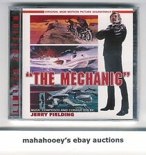The Mechanic (1972) Jerry Fielding SOLD OUT Ltd Ed 1200 OOP CD Soundtrack SEALED