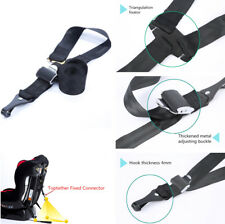 Car Baby Safety Seat Latch Anchor Top Tether Strap Hook  Adjustable Universal