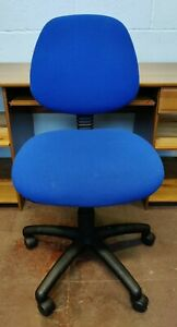 Chair Task Office Conference Room School Blue FREE MANCHESTER DELIVERY