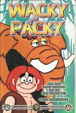 WACKY AND PACKY DVD   BRAND NEW   9 ZANY ADVENTURES OF THE CAVEMAN AND HIS PET