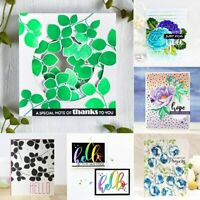 Clear Silicone Rubber Stamps Seal Scrapbooking Album Card Decor Diary Craft DIY
