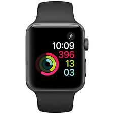 Apple Watch Series 2 Space Grey 42mm Aluminum Case w/ Black Sport Band (ML1769)