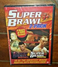 Super Brawl 2 Pack - Warriors/Greatest Hits (DVD, 2006)