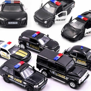 New 1:36 Dodge MUSTANG F150 POLICE Alloy Car Model DiecSG