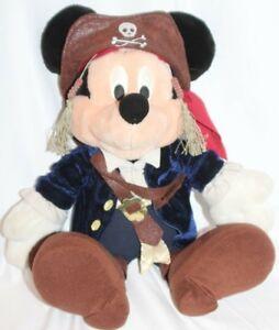 Disney Mickey Mouse Pirates of the Caribbean Jack sparrow Plush Stuffed Animal