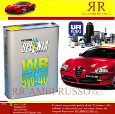 KIT TAGLIANDO ALFA ROMEO 147 GT 1.9 JTD JTDM 5 LT. SELENIA WR 5W40 4 FILTRI