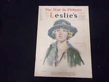 1918 NOVEMBER 30 LESLIE'S WEEKLY MAGAZINE - GREAT COVER, PHOTOS & ADS - ST 2225