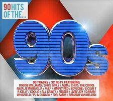 90 Hits of the '90s [Box] by Various Artists (CD, Oct-2013, 4 Discs, Rhino...