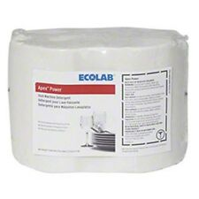 Nasty Residue? -- ECO 6117063 Ecolab Apex Solid Power Dish Detergent (4) 17063