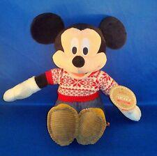 Hallmark - Cozy Sweater Mickey Mouse - Christmas Plush Stuffed Animal - NEW