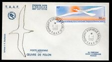 TAAF 1990 FDC SG270 30F BIRD IN FLIGHT
