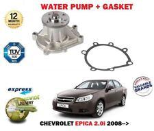 für Chevrolet Epica 2.0i 2008- > Neue Wasserpumpe mit Dichtung Satz