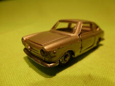PENNY 30 FIAT 850 COUPE 1:66 - GREY METALLIC - RARE SELTEN - GOOD CONDITION