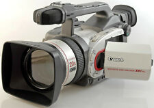 CANON XM1 PROFESSIONAL 3CCD mini DV CAMCORDER +5x batteries+ digital video tapes