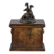 Whippet, Urn, Kalte Bronze, ArtDog, AT, Type 1
