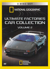 National Geographic - Ultimate Factories Car C New DVD