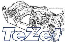 TeZet Fächerkrümmer für HONDA CIVIC CRX, ED9 16V, 115PS, Motor: D16Z5 Bj. 1989-