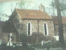 postcard used 1909 delaval church norwich frank