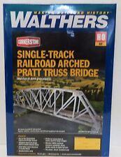 HO Scale Walthers Cornerstone 933-4521 Single Track Arched Pratt Truss Bridge