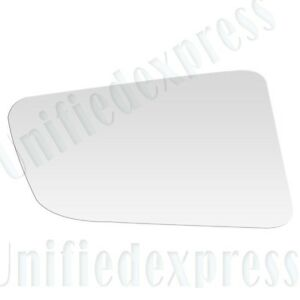 REPLACEMENT MIRROR-GLASS+ADHESIVE PAD~LEFT DRIVER SIDE(See Compatibility for App