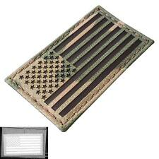 USA American flag infrared IR multicam reflective tactical IFF laser hook patch
