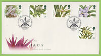 G.B. 1993 Orchids set on u/a Royal Mail First Day Cover, Oxford