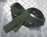 Genuine Vintage British Military OD Green Canvas Transport Sling Aux Strap