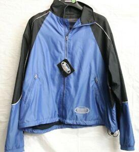BELL MENS NYON BLUE MOTORCYCLE WINDBREAKER RIDING/RACING/STREET 99416-02BM (XXL)