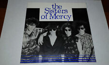 "The Sisters Of Mercy –The Damage Done-7"" Primary UK poster sleeve Dark Goth rock"