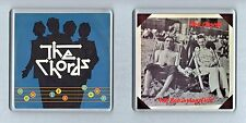 2 Coasters: THE CHORDS Now Its Gone British Way Of Life MOD Alt New Wave Retro