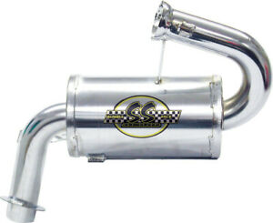 SNO Stuff Rumble Pack Single Canister Light Weight Silencer Exhaust 331-403