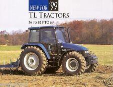 Farm Tractor Brochure - New Holland - TL 70 80 90 100 - 1999 (F2476)